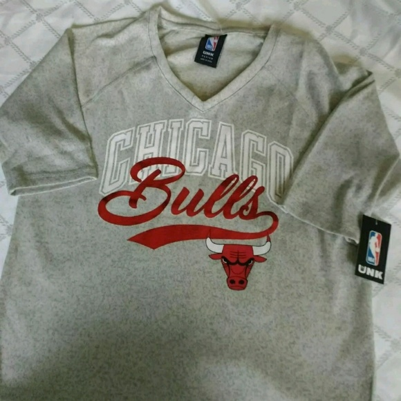 Chicago Bulls Women s Short Sleeve Sweater Size M 76dd8252ea
